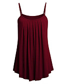 cheap Women's Dresses-Women's Tank Top - Solid Colored Strap