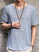 ieftine Maieu & Tricouri Bărbați-Bărbați Tricou Șic Stradă - Mată