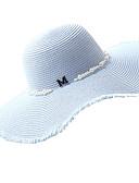 ieftine Pălării Femei-Pentru femei Mată De Bază / Nuntă Paie Căciulă