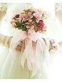 economico Veli da sposa-Bouquet sposa Bouquet Matrimonio / Ricevimento di matrimonio Raso / Stoffe 11-20 cm