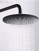 billige Truser-Dusjkran - Moderne Malte Finishes Veggmontering Keramisk Ventil Bath Shower Mixer Taps / Messing / Enkelt håndtak To Huller