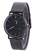 ieftine Quartz-Xu™ Pentru femei Ceas de Mână Quartz Creative Ceas Casual Mare Dial Aliaj Bandă Analog Modă minimalist Argint - Negru Argintiu Un an Durată de Viaţă Baterie