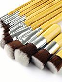 billige Gensere til damer-11 deler Makeup børster Profesjonell Kunstig fiber børste Økovennlig / Profesjonell / Myk Bambus / Tre / Bambus