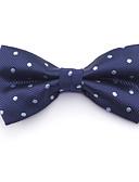 זול כובעים אופנתיים-עניבת פפיון - קולור בלוק / סרוג כותנה פפיון בסיסי בגדי ריקוד גברים / כל העונות