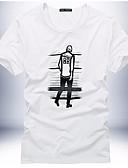 ieftine Maieu & Tricouri Bărbați-Bărbați Tricou Geometric Imprimeu