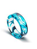 זול טישרטים לגופיות לגברים-בגדי ריקוד גברים טבעת הטבעת - פשוט, אופנתי אדום / כחול / ורוד עבור Halloween / יום הולדת