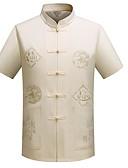 ieftine Tricou Bărbați-cămașă pentru bărbați - suport solid colorat
