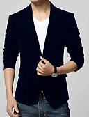 billige Slips og sløyfer-menns arbeid blazer - solid farget skjorte krage