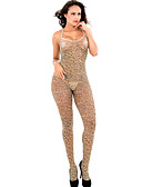 ieftine Șosete & Ciorapi-Pentru femei Costume Pijamale - Plasă, Leopard