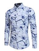povoljno Muške košulje-Majica Muškarci Dnevno Cvjetni print
