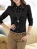 ieftine Bluze de Damă-Pentru femei Stand Cămașă Muncă Mată