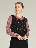 ieftine Bluze Damă-Pentru femei Bluză Afacere / Activ - Plisat