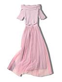 זול שמלות נשים-סירה רחב מידי שמלה נדן רזה ליציאה בגדי ריקוד נשים