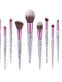 povoljno Ženske kaputi od kože i umjetne kože-profesionalac Četke za šminku Šminka 10-Pack Profesionalna Udoban Drveni / bambus za