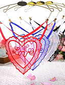 cheap Women's Nightwear-Women's G-strings & Thongs Panties Embroidered / Letter Low Waist