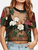 baratos Macacões & Macaquinhos-Mulheres Blusa - Feriado Floral