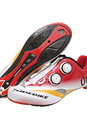 cheap Military Watches-SIDEBIKE Adults' Cycling Shoes With Pedals & Cleats / Road Bike Shoes Carbon Fiber Cushioning Cycling Red / White Men's