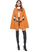 olcso Kabát & Viharkabát-Vintage Női Kabát - Egyszínű