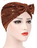 olcso Női kalapok-Női Egyszínű Flitter Poliészter,Alap Szabadság-Széles karimájú kalap Nyár Minden évszak Fukszia Bor Tengerészkék