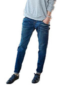 ieftine Pantaloni de Damă-Pentru femei De Bază Zvelt Blugi Pantaloni - Mată Talie Înaltă Albastru piscină