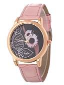 ieftine Quartz-Xu™ Pentru femei Ceas de Mână Quartz Ceas Casual Adorabil PU Bandă Analog Casual Modă Negru / Alb / Albastru - Verde Albastru Roz Un an Durată de Viaţă Baterie