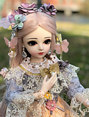 cheap Wedding Dresses-Doris Ball-joined Doll / BJD Blythe Doll Baby Girl 20 inch Full Body Silicone - Cute Exquisite High-Temperature Resistant Fibre Wigs Kid's Girls' Toy Gift