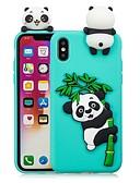 abordables Bufandas de Raso Chics-Funda Para Apple iPhone X / iPhone 8 Plus Manualidades Funda Trasera Oso Panda Suave TPU para iPhone X / iPhone 8 Plus / iPhone 8