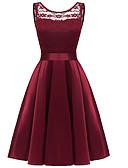 tanie Sukienki-Damskie Podstawowy Spódnica Sukienka Midi