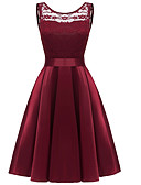 رخيصةأون فساتين فينتيدج قديمة-فستان نسائي عصري أنيق أساسي ميدي