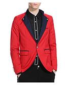 ieftine Blazere-bărbați de lucru blazer-culoare guler tricou bloc