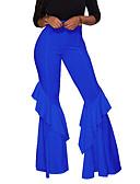 ieftine Pantaloni de Damă-Pentru femei Zvelt Pantaloni Chinos Pantaloni Mată / Primăvară / Vară / Muncă