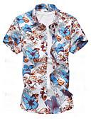 povoljno Muške majice i potkošulje-Majica Muškarci Izlasci / Vikend Geometrijski oblici Print