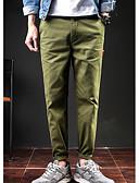 ieftine Pantaloni Bărbați si Pantaloni Scurți-Bărbați Bumbac Pantaloni Chinos Pantaloni Scrisă