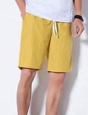 povoljno Muške duge i kratke hlače-Muškarci Osnovni Kratke hlače Hlače Jednobojni