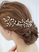 billige Brudekjoler-Legering Hair Combs / Hovedstykke med Krystal / Rhinsten 1 Stykke Bryllup / Speciel Lejlighed Medaljon