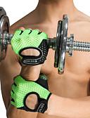 お買い得  メンズブレザー&スーツ-トレーニング手袋 シリコン 調整可 アンチスリップ 高通気性 しつけ用品 保護 エクササイズ&フィットネス ジムトレーニング ボディービルディング ために 男性 女性 手