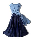 זול חליפות שני חלקים לנשים-חצאית אחיד - סט רזה בגדי ריקוד נשים