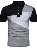 povoljno Muške košulje-Polo Muškarci - Osnovni Dnevno Color block