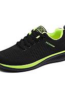 رخيصةأون كنزات هودي رجالي-رجالي أحذية الراحة شبكة خريف & شتاء كاجوال أحذية رياضية أسود / أسود / أحمر / أسود / أخضر