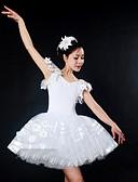 preiswerte Brautmutter Kleider-Ballett Kleider Damen Leistung Elasthan / Tüll Horizontal gerüscht Ärmellos Kleid