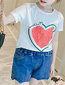 povoljno Haljine za djevojčice-Dijete koje je tek prohodalo Djevojčice Osnovni Jednobojni Kratkih rukava Komplet odjeće