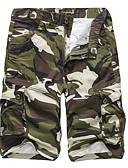 ieftine Pantaloni Bărbați si Pantaloni Scurți-Bărbați Șic Stradă Pantaloni Chinos / Pantaloni Scurți Pantaloni camuflaj
