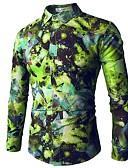 cheap Men's Shirts-Men's Active / Basic Shirt - Geometric Print