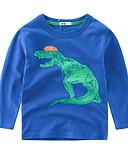 povoljno Majica-Djeca Dječaci Print Dugih rukava Majica s kratkim rukavima