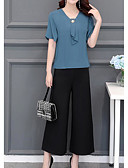 preiswerte Bluse-Damen Bluse - Solide Hose