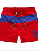 ieftine Pantaloni Bărbați si Pantaloni Scurți-Bărbați Zvelt Pantaloni Chinos Pantaloni - Bloc Culoare Alb