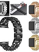 povoljno Maske za mobitele-Pogledajte Band za Apple Watch Series 5/4/3/2/1 Apple Sportski remen Nehrđajući čelik Traka za ruku