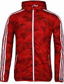 זול חולצות לגברים-להסוות עם קפוצ'ון ספורט ג'קט - בגדי ריקוד גברים / שרוול ארוך