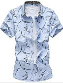 ieftine Tricou Bărbați-Bărbați Cămașă Șic Stradă - Geometric