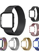 halpa Smartwatch-nauhat-Watch Band varten Fitbit Blaze Fitbit Milanolainen Ruostumaton teräs Rannehihna